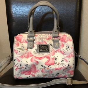 Loungefly Aristocats Marie Floral Faux Leather Bag
